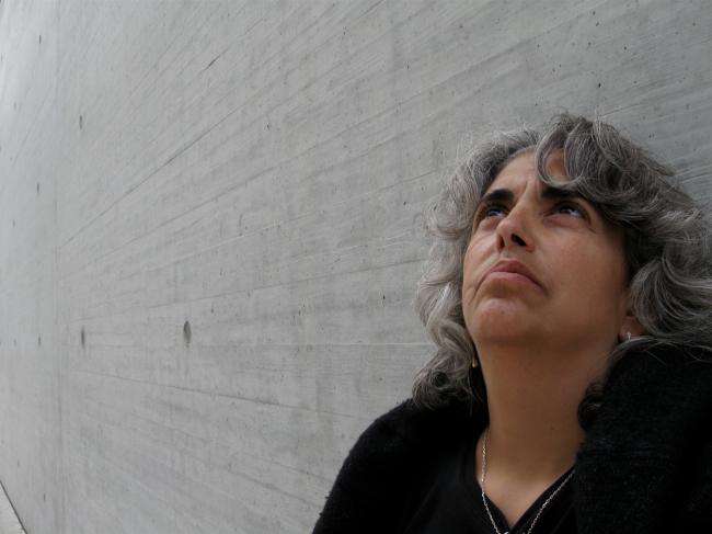 Sally at Wall Image
