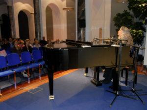 Sally KleinO'Connor at the Piano