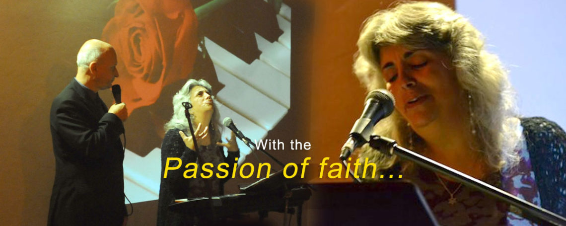 With the Passion of faith…